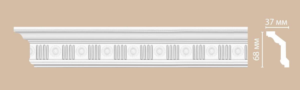 DT-88151/30 плинтус DECOMASTER-2 (68х37х2400мм)