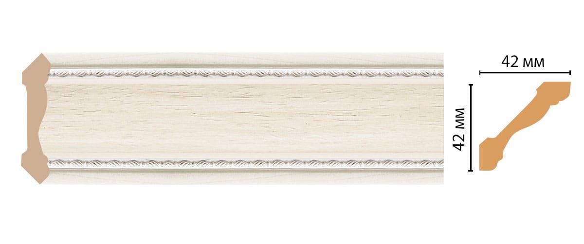 180-15 Плинтус (2400 × 42 × 42 )