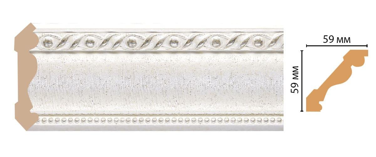 123-42 Плинтус (2400 × 59 × 59 )