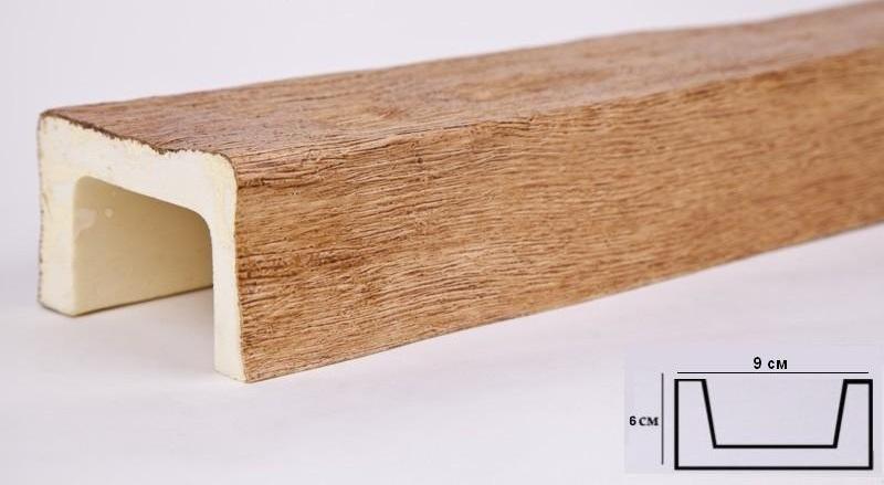 Б1 св.дуб Балка (3000 × 90 × 60 )