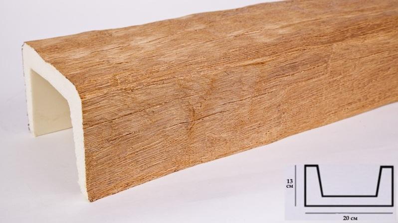 Б3 орех Балка (3000 × 200 × 130 )