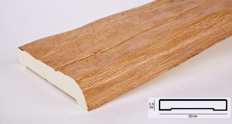 Д20 Доска орех (3,5х20х200см)
