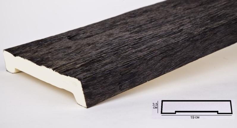 ДСС Доска Темная олива (3,5х19х200см)