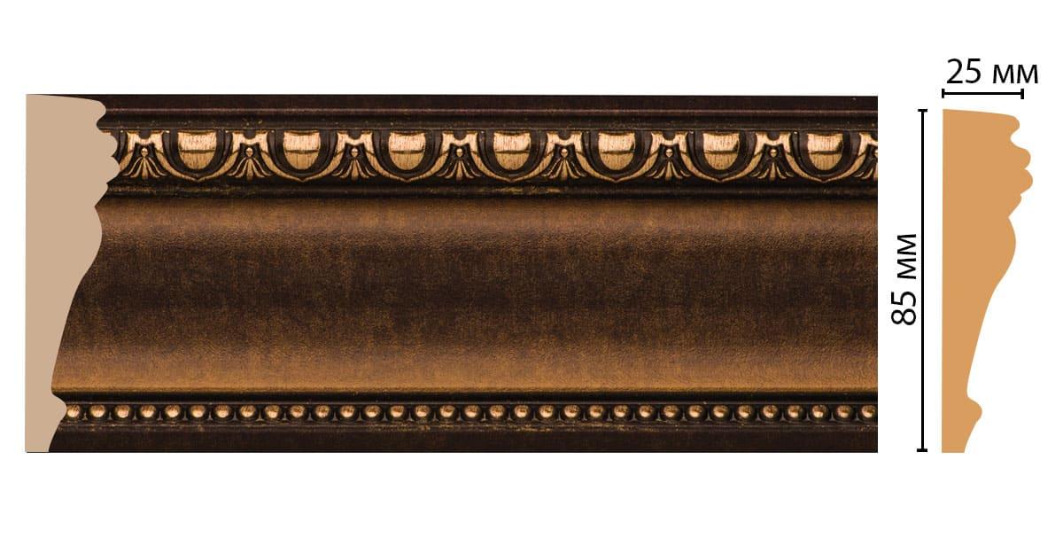 152-56 Молдинг (2400 × 85 × 25 )