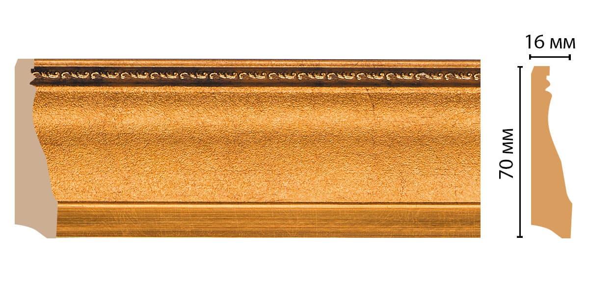 193-1223 Плинтус (2400 × 70 × 16 )