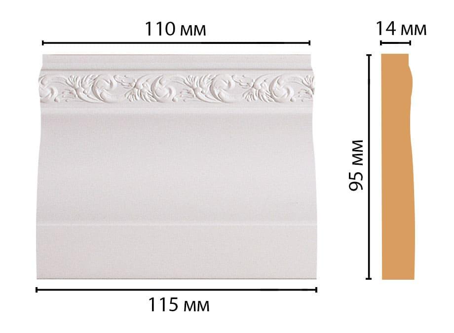 D204-115 Основание (115 × 95 × 14 )