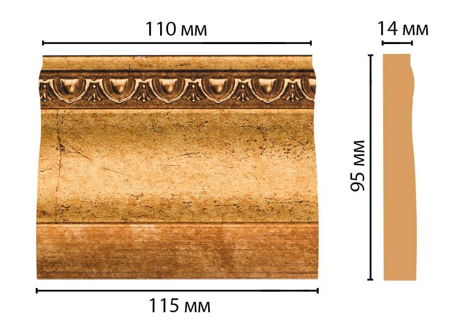 D204-58 Основание (115 × 95 × 14 )
