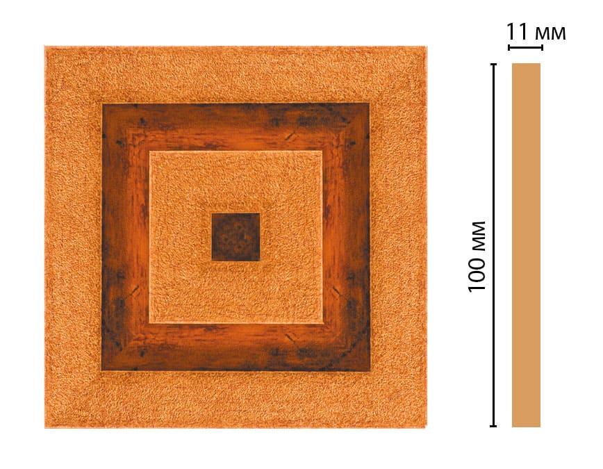 D205-1223 Вставка (100 × 100 × 11 )