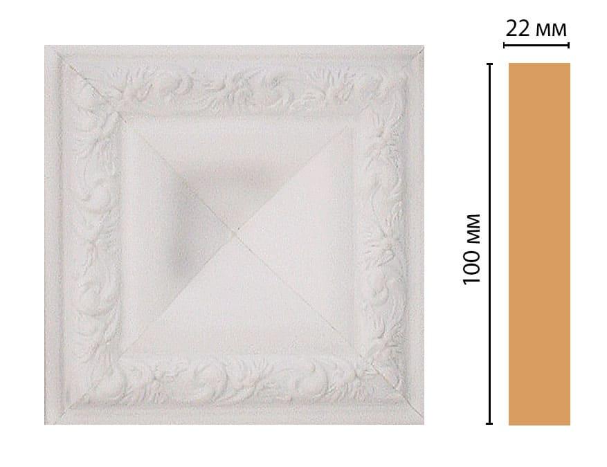 D207-115 Вставка (100 × 100 × 22 )