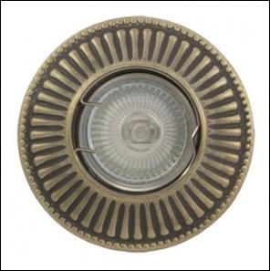 удалить SV 7056 AB Декоративный гипсовый светильник (100х100х25)