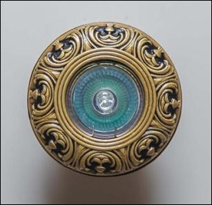 удалить SV 7106 AB Декоративный гипсовый светильник (96х96х20)