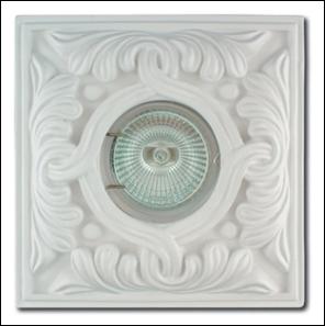 SV 7038 Гипсовый светильник (135 × 135 × 25 )