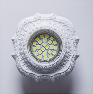 SV 7134 Гипсовый светильник (100 × 100 × 20 )