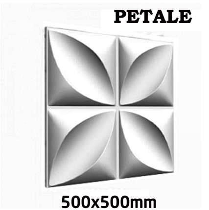 Гипсовая панель PETALE (500х500мм)