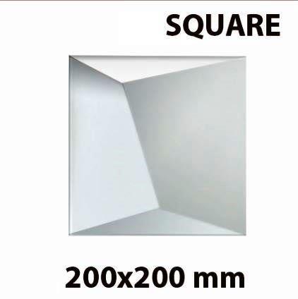 Гипсовая панель SQUARE (200*200мм)