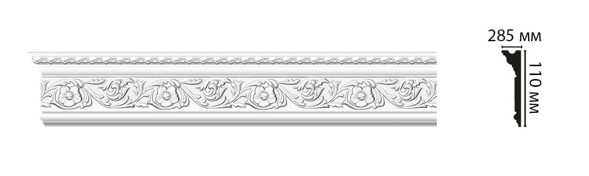 D225A Плинтус (2000 × 110 × 29 )