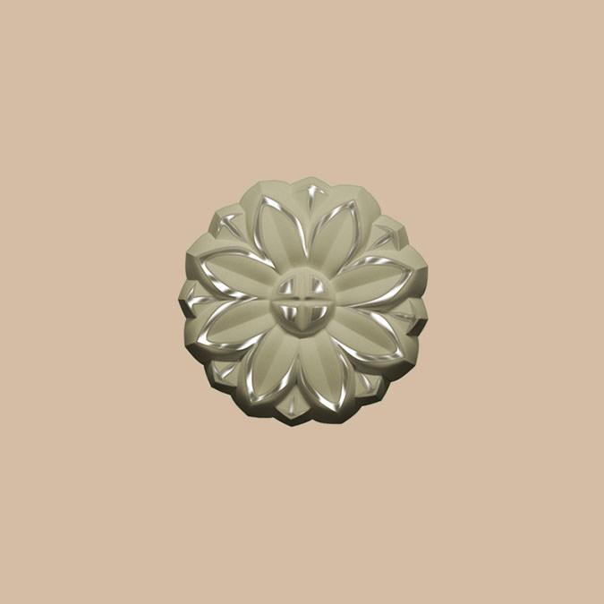 80002-59 Орнамент (38 × 38 × 6 )