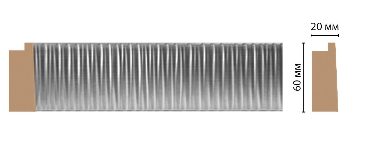 611-1610 Багет (2900 × 60 × 20 )